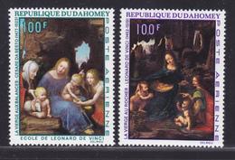 DAHOMEY AERIENS N°   99 & 100 ** MNH Neufs Sans Charnière, TB (D4687) Tableaux De Maitres, Léonard De Vinci... - Benin - Dahomey (1960-...)