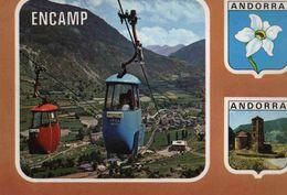 CPM  Andorre Encamps (avec Timbre) - Andorra