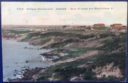 1908 AFRIQUE OCCIDENTALE DAKAR BAIE ET CAMP DES MADELEINES / Arrivo CHIAVRIS UDINE - Senegal
