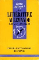 La Littérature Allemande Par Angelloz - Books, Magazines, Comics