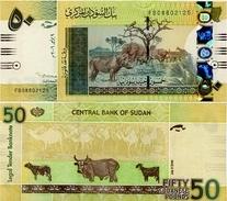 SUDAN       50 Sudanese Pounds      P-69a      9.7.2006      UNC - Soudan