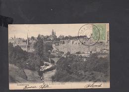 LUSSEMBURGO  1905 - Cartolina Con Francobollo Sulla Figura - 1895 Adolphe Right-hand Side