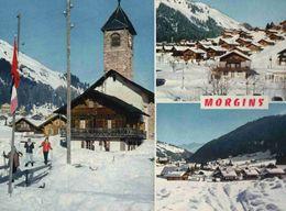 CPM  Suisse  Morgins  (joli Timbre Au Dos ) - VS Valais