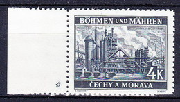 Boheme Et Moravie 1939 Mi 34 (Yv 34 Avec Bdf), (MNH) ** - Bohemia & Moravia
