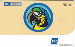 Denmark, D 063, 50 Kr. Parrot, 2 Scans. - Danimarca