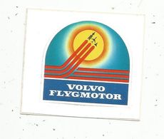 Autocollant , AVIATION & ESPACE , VOLVO FLYGMOTOR - Aufkleber