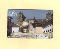 "PHONECARD ÓPTICO PORTUGAL PT067 ""ÉVORA/SÉ"" 606L - 50U -   LOW EDITION - NEW/NOT USED - Portugal"