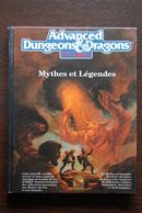 ADVANCED DUNGEONS ET DRAGONS - AD&D - Mythes Et Légendes - TBE - Dungeons & Dragons