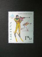 XX Winter Olympic Games Torino # Lietuva Litauen Lituanie Litouwen Lithuania 2006 MNH # Mi. 894 - Lithuania