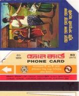 TARJETA TELEFONICA DE BANGLADESH. URMET (003) - Bangladesh