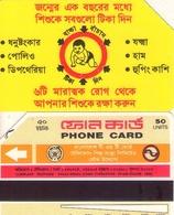 TARJETA TELEFONICA DE BANGLADESH. URMET (005) - Bangladesh