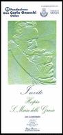 INVITO: Concerto Per Il 50° Anniv. Della Morte Di Don Carlo Gnocchi - Teatro Manzoni / Monza (BEATIFICATO Il 25/10/2009) - Programmi
