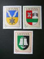 Coats Of Arms # Lietuva Litauen Lituanie Litouwen Lithuania 2006 MNH # Mi. 904/6 - Lithuania