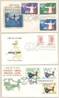 Pilipinas / Phillipines - 1970/1 - 3 FDC's - No Address - Pope Paul VI, Mariano Ponce, Travel - Filippijnen