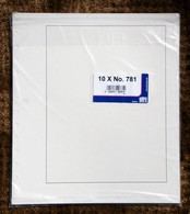 """SAFE - 10 Feuilles  Réf.781- """"chamois Clair Quadrillées"""" - Enveloppes Transparentes"""