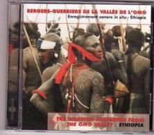 CD ETHIOPIE Guerriers De L Omo Etat: TTB Port 110 Gr Ou 30gr - Musiques Du Monde