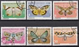 Cuba 1979 Sc. 2256-61 Farfalle Butterfly Papillons Mariposas Full Set Nuovo CTO - Unused Stamps