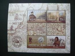 Millenium Of Lithuania # Lietuva Litauen Lituanie Litouwen 2006 MNH # Mi. 909/2 Block 33 - Lithuania