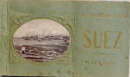 SUEZ 11 Cartes Dans Un Carnet - Suez