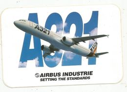 Autocollant , AVIATION & ESPACE , AIRBUS INDUSTRIE , A321 - Aufkleber