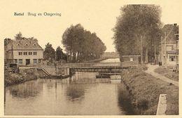 BATTEL (Mechelen) - Brug En Omgeving  - Uitg. Kruidenier Leop. Van Beersel - Van De Woesteyne - Rond 1950 - Malines