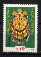 TURKMENISTAN 1992, Yvert 8, COLLIER DAGDAN, 1 Valeur, Neuf / Mint. R140 - Turkménistan