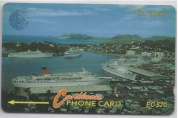 ST. LUCIA - COASTLINE - 12CSLB - Saint Lucia