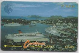 ST. LUCIA - COASTLINE - 13CSLC - Saint Lucia