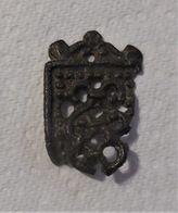 Morceau D'embout De Ceinture En Bronze - Archaeology