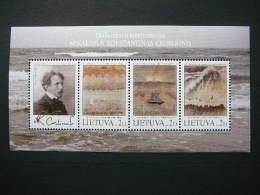 M.K.Chiurlionis. Art. Painting # Lietuva Litauen Lituanie Litouwen Lithuania 2005 MNH # Mi. 885/7 Block 32 - Lithuania