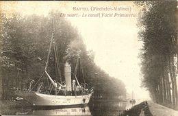 BATTEL (Mechelen) - De Vaart Met Yacht Primavera Van Baron Empain - Uitg. D. Hendrix - Rond 1912 - Zeldzaam ! - Malines