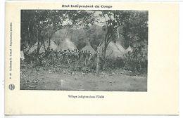 Etat Indépendant Du CONGO - Village Indigène Dans L'UELLE - Congo Français - Autres