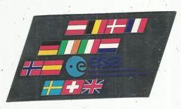 Autocollant , AVIATION & ESPACE , Esa , European Space Agency ,agence Spatiale Européenne , Effet Miroir - Aufkleber