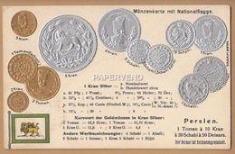 Iran    Coin Card Embossed Irn22 - Iran