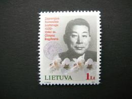 Chiune Sugihara # Lietuva Litauen Lituanie Litouwen Lithuania 2004 MNH # Mi. 848 Famous People - Lithuania