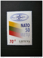 50th Anniversary Of NATO # Lietuva Litauen Lituanie Litouwen Lithuania 1999 MNH # Mi. 692 - Lithuania