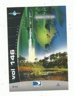Autocollant , AVIATION & ESPACE , Arianespace , Vol 146 , Cnes - Aufkleber