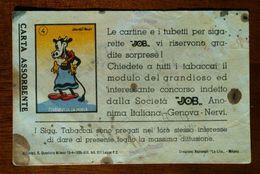 Carta Assorbente, Con Figurina Clarabella. Pubblicità Job, Usata Anni 50/60 € 2+3 Spedizione - Tobacco
