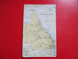 CPA AUSTRALIE QUEENSLAND PLAN CARTE - Australie