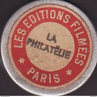 1 Film Fixe LA PHILATELIE (ETAT TTB ) - 35mm -16mm - 9,5+8+S8mm Film Rolls