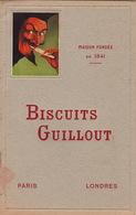 Catalogue Biscuit Guillout Issy Les Moulineaux Seine Biscuiterie Boite Pain D'épice - Alimentaire