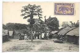 CONGO - BRAZZAVILLE - Village Près KUAMOUTH - Brazzaville