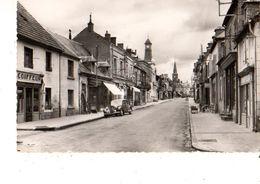 03----COSNE-d'ALLIER--grand' Rue--( Voiture Traction + Coiffeurs + Pompe à Essence )( Peu Courante )--voir 2 Scans - Frankrijk