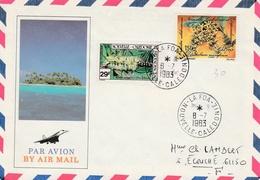 La Foa 1983 - Calédonie - Lettre Brief Cover - Nieuw-Caledonië