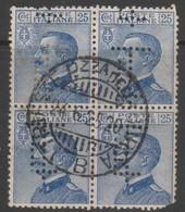 Trieste Libera  Quartina 25 Cent. Usato - 7. Trieste