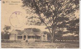 N° 5 Elisabethville - Habition Privée - Cachet D'arrivée à étoiles De KAMBOVE Le 12 V 1927 - Lubumbashi