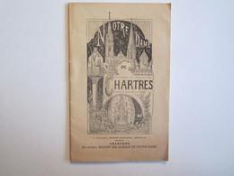 Publicité Dépliant Touristique Notre Dame De Chartres - Dépliants Turistici