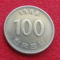 Korea South 100 Won 1988 KM# 35.2 Coreia Do Sul Corea - Korea, South