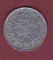 190118 - !!! FAUX Pièce Fausse !!! -  FRANCE - 50 Francs Type HERCULE 1877 1977 - Francia