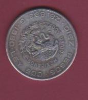 190118 - !!! FAUX Pièce Fausse !!! -  10 Pesos 1960 Independencia Y Libertad HIDALGO MADERO Estados Unidos Mexicanos - México